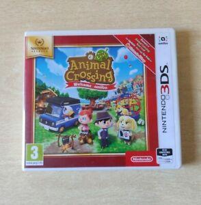 NINTENDO 3DS 2DS ANIMAL CROSSING NEW LIFE + WELCOME AMIIBO PAL ITALIANO