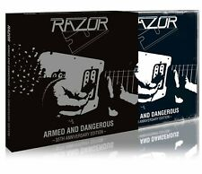 RAZOR - Armed and Dangerous - 35th Anniversary Ed. (NEW*SLIPCASE*CAN SPEED METAL