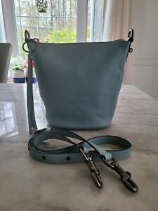 Coach Bag 1941 Duffle 20 Pebbled Leather Blue Turquoise