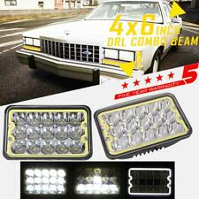 """4x6"""" 90W LED Headlight Hi-Lo DRL Sealed Beam For Ford Dodge Buick Cadillac Truck"""