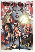 Vampirella Monthly (1997) #26 Red Foil Variant Cov Lady Death Pantha The END NM