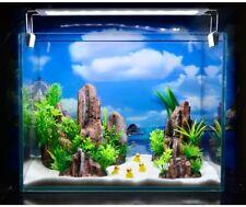 4pcs/lot Aquarium Rockery Plastic Plants Ornament Fish Tank Decorations Package