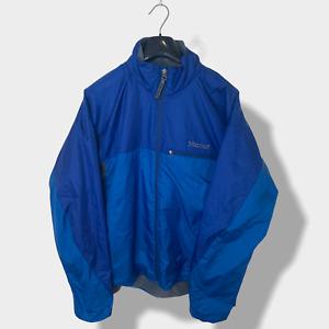 Mens Blue Marmot Lightweight Jacket - Size Medium (M) X101