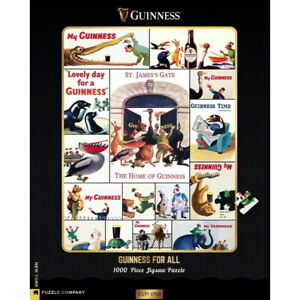 """Guinness  """"Who's Got The Guinness?"""" 1,000 Piece Puzzle"""