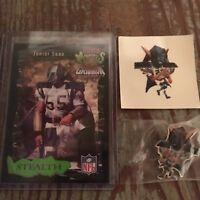 Junior Seau Coca Cola Monsters Of The Gridiron Lot Chargers