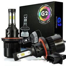 JDM ASTAR G2 8000LM H13/9008 18SMD LED Headlight High Low Beam Bulbs Xenon White