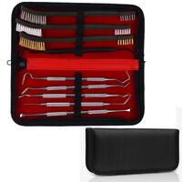 9X Rifle Gun Cleaning Kit Brush Shotgun Pistol Cleaner Tool Set for 38/357/9mm