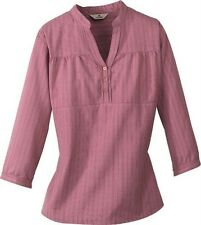 Woolrich ~ Vidalia Mandarin Collar Shirt Women's S $39 NWT