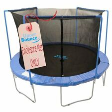 Upper Bounce 15' Trampoline Enclosure Safety Net, 15' Round Frame Using 3 Arches
