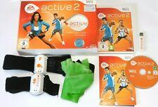 EA Sports Active 2-entrenadores personales Nintendo Wii completo conjunto en OVP