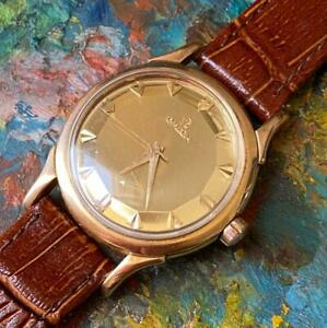 OMEGA CONSTELLATION PIEPAN DELUXE DIAL 18KT ROSE GOLD VINTAGE WATCH 100% GENUINE