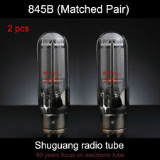 2pcs shuguang 845B Matched Pair Tested by Factory Vacuum Tube 4PIN