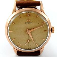 OMEGA 18K PINK GOLD 35,50 MM CASE. REFERENCE 2685 YEAR 1953 WATCH