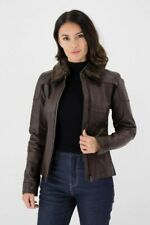 Knox Phelix Brown Leather Motorcycle Jacket