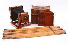 Used Butcher & Sons The National Camera Quarter Plate Camera W/ Aldis Brass Lens