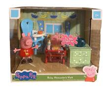 Peppa Pig Baby Alexander's Visit Playset #PEP0493 Jazwares