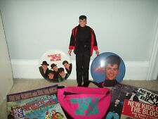 Lot Of New Kids On The Block Items, Jordan Doll, Fanny Pack, 2 Buttons, Books