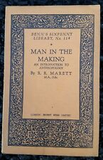 Vintage Book - Benn's Sixpenny Library # 114 Man In The Making 1st Pub 1927