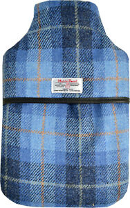 Harris Tweed Padded 2L Hot Water Bottle - Gift Boxed