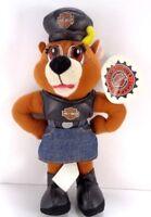 "Harley Davidson Motorcycle Road Hog Biker Teddy Bear Girl skirt Plush Stuffed 8"""