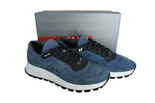 NEW Authentic PRADA Mens Shoes Sneakers Blue Size US10 EU43 UK9 4E3433