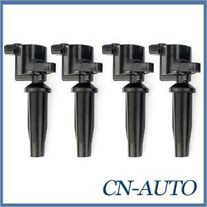 4Pcs Ignition Coils Pack For Mazda 3 BK 2.0L LF-DE / BK-SP23 2.3L L3 2004-2006