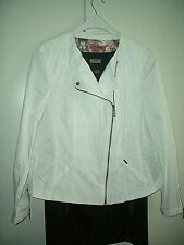 TM250KI4#11519 tolle weiße Jacke,Gerry Weber LIMITED Edition gr. ca 44