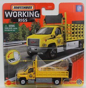 Matchbox MBX Working Rigs GMC 3500 Attenuator Truck GWG36 FNQHotwheels FM282