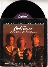 "BOB SEGER  Shame On The Moon PICTURE SLEEVE 7"" 45 record + juke box title strip"
