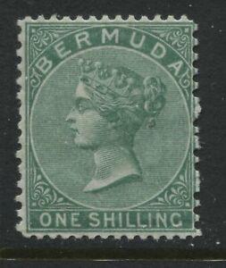 Bermuda QV 1894 1/ green perf 14 by 12 1/2 mint o.g.