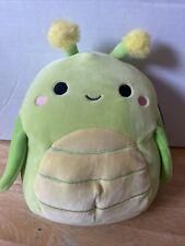 "Squishmallows 8"" Pilar Bug Plush Light Green Insect Squad"