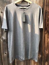 Banana Republic Luxury Touch Men's Soft T-Shirt Gray Crew Neck Size Large NWT