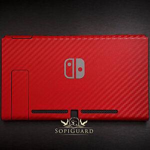 SopiGuard 3M Avery Carbon Fiber Brushed Skin Wrap for Nintendo Switch Tablet