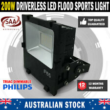 Commercial Driverless 200W 5000K LED Luminous Flood Sports Security Light