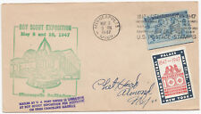 S3094 Stati Uniti Boy Scout EXPO 1947 COPERCHIO; solo 3c US Navy e Cenerentola