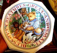 Royal Doulton Feines China Porzellan Teddybär Bless The Creatures Great And