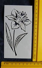 Plastic/PVC/Embossing/Stencil/SMALL/Daffodil/Flower/BEAUTIFUL/Bendy