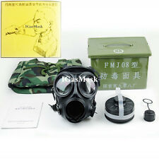 IGasMask Military Gas Mask FMJ08 SAS S10 Style Tactical Airsoft Protection Gear