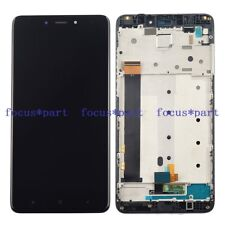 Xiaomi Redmi Note 4 LCD Display Touch Screen Digitizer Assembly Frame Black