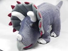 pbc International Play-Back Fact Talking/Walking Triceratops Dinosaur Plush