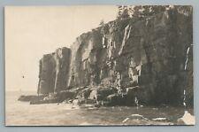 Otter Cliffs Mt. Desert Island Maine—Chas. Townsend Belfast Me Antique Photo 191
