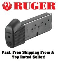 Ruger LC9/LC9s/EC9s 9mm Pistol Extended 9 Round OEM Magazine/Mag/Clip 90404   2A