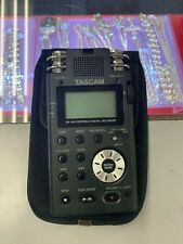 TASCAM DR-100 MKII LINEAR PCM RECORDER POCKET PORTABLE AUDIO