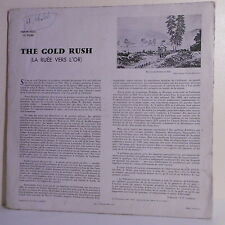 "33T THE GOLD RUSH Ruée vers l'Or Disque LP 12"" Film WESTERN - FOLKWAYS 55255"