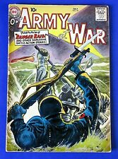 OUR ARMY AT WAR #60 COMIC BOOK ~ 1957 DC SILVER AGE ~ G/VG