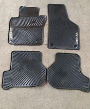🔥 Genuine OEM Front + Rear Floor Mats for VW Jetta MK5 Jetta Sports MK5 MK6 🔥
