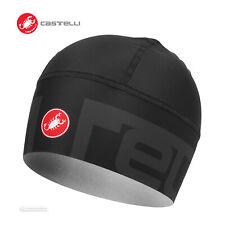 Castelli VIVA2 THERMO SKULLY Winter Thermal Cycling Skullcap : LIGHT BLACK
