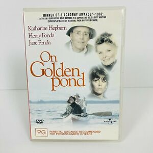 On Golden Pond (DVD 1981) Katharine Hepburn Region 4 Free Postage