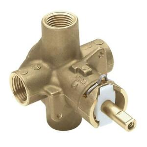 Moen Rough-In Posi-Temp Pressure-Balancing Cycling Tub and Shower Valve - 2510