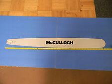 """MCCULLOCH  34"""" BAR 105 125 D44 1-40 1-60 1-70 250 300 450 550 790 795 1000 81"""